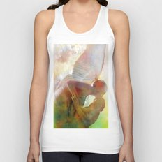 The kiss of the angel Unisex Tank Top