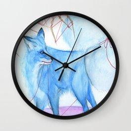 Karma Fox Wall Clock