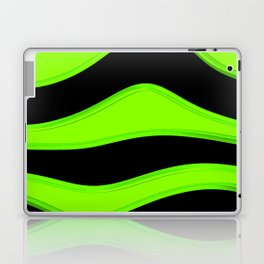 Hot Wavy E Laptop & iPad Skin