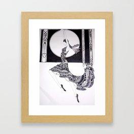 Dancer Series - Jacqueline Framed Art Print