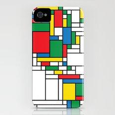 Modern World Map Slim Case iPhone (4, 4s)