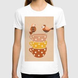 Birds and Teacups T-shirt