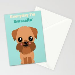 Brussels Griffon Stationery Cards