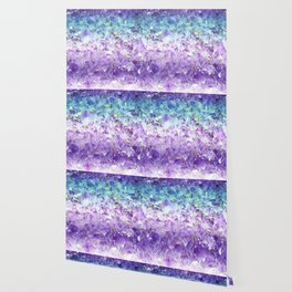 Alexandrite crystal rough cut Wallpaper