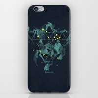 "edm iPhone & iPod Skins featuring Gravity Levels ""Space Bird"" by Sitchko Igor"