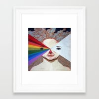 prism Framed Art Prints featuring Prism by Casey Landerkin
