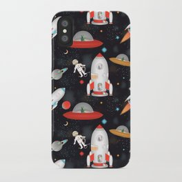 Spaceships iPhone Case