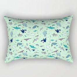 Sea Animals Rectangular Pillow