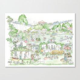 Suburban Farming Canvas Print