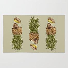 Pineapple Skull Rug