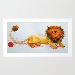 Cats_big cat Art Print