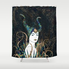 The Forest Queen Shower Curtain