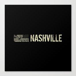 Black Flag: Nashville Canvas Print