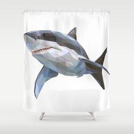Attack Shirt | Cute Great White Shark Gift Tees Shower Curtain
