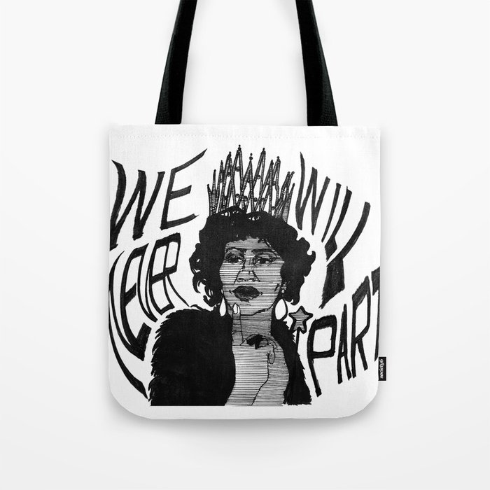 Sing to me, Aretha Tote Bag