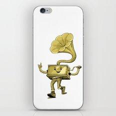 gramaphone iPhone & iPod Skin