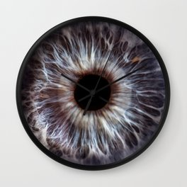 EYE Love to See You, Deep Blue Wall Clock