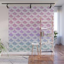 Unicorn Pastel Mermaid Scales #1 #pastel #decor #art #society6 Wall Mural