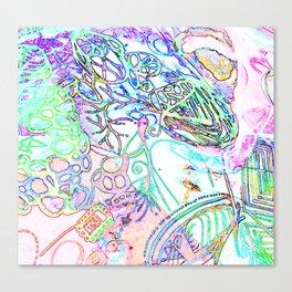 spec vertebraeyes Canvas Print