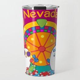 Ernest and Coraline | I love Nevada Travel Mug