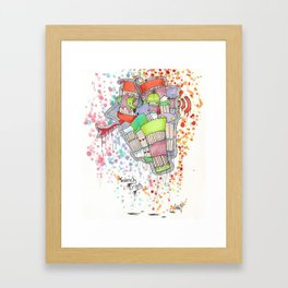 Insanely Crazy Framed Art Print