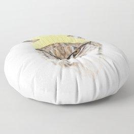 It's pretty cold outside II Floor Pillow