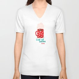 Cup of love Unisex V-Neck