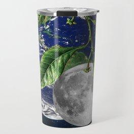 Full moon and Earth Travel Mug