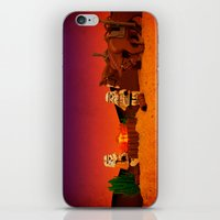 camping iPhone & iPod Skins featuring Camping by plopezjr