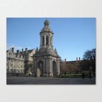 dublin Canvas Prints featuring Dublin by Ganeswar Sahoo