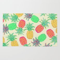Pineapple Pandemonium (multi) Rug