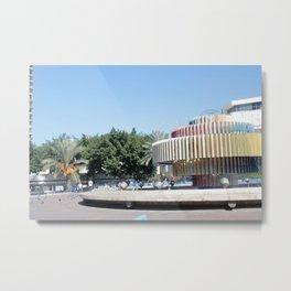 Tel Aviv photo - Dizengoff Square Metal Print
