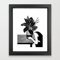 Tragedy makes you grow up Framed Art Print