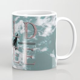 Wild and Free Waves in Rose Gold Coffee Mug