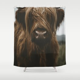 Scottish Highland Cattle Shower Curtain