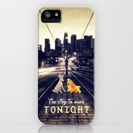 The city is ours tonight - for iphone iPhone Case