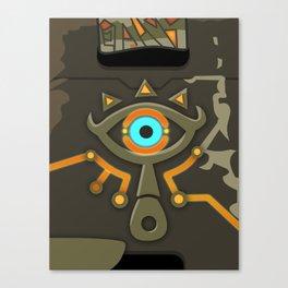 Zelda Sheikah Slate Canvas Print