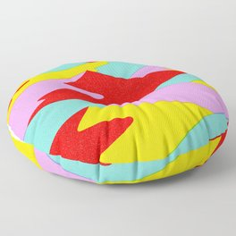 Layered Mountain Cake Floor Pillow