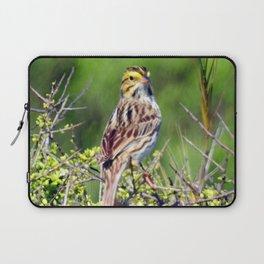 Savannah Sparrow Laptop Sleeve