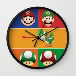 Mario Party Wall Clock