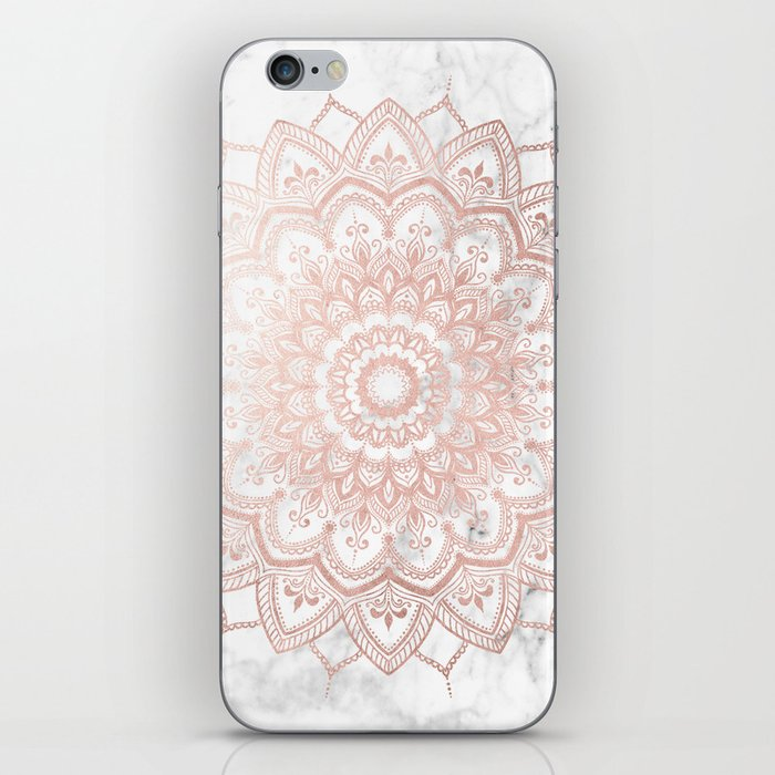 Pleasure Rose Gold iPhone Skin