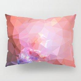 Geometric galaxy low poly 2 Pillow Sham