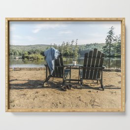 Adirondack Chairs Serving Tray