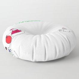 Ho Ho Ho Floor Pillow