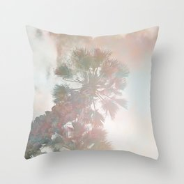 Tropical Day Dream Throw Pillow