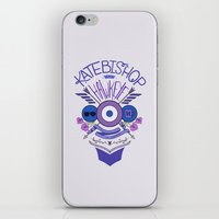 kate bishop iPhone & iPod Skins featuring Katie Kate by emptystarships