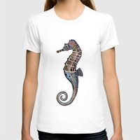 seahorse T-shirts featuring Seahorse by SilviaGancheva