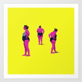 Mujer maravilla Art Print