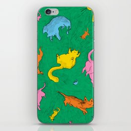 Charming Cats iPhone Skin