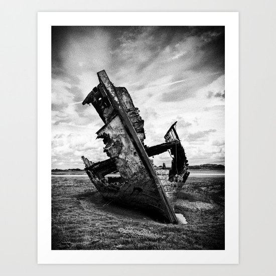 Decayed and Neglected Art Print